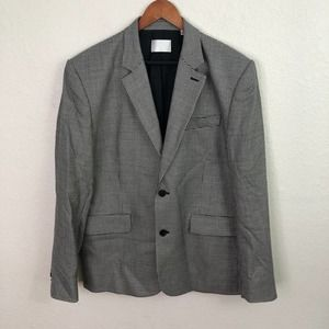 7 For All Mankind Notch Lapel Suit Jacket